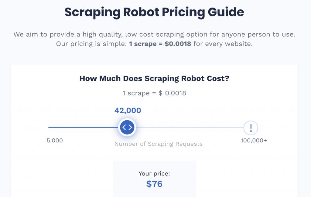 scraping robot