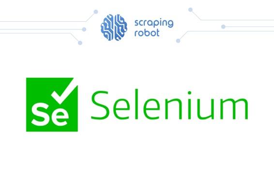 web scraping with selenium blog post header image